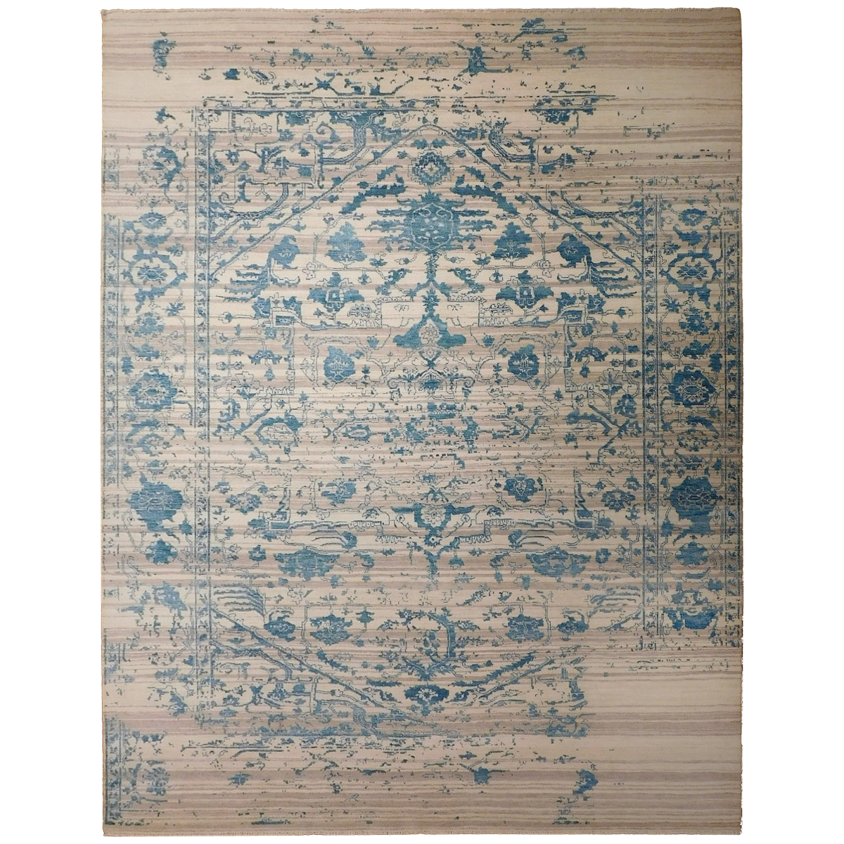 viyet - designer furniture - rugs - nasser luxury rugs erased wool and RSEOFEI