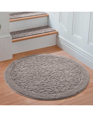 washable area rugs improvements rowan embossed washable area rug-36 QUKQVZP