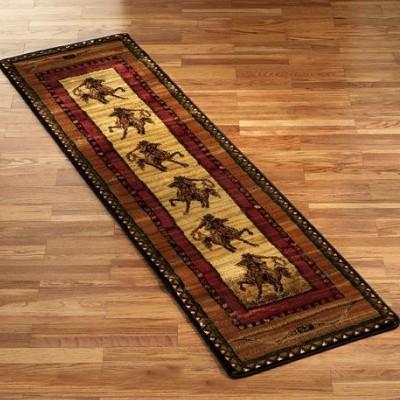 western rugs rawhide western cowboy riding horse southwestern area rug OEKPLDQ