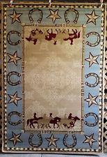 western rugs western country southwest rustic cowboy horse star lodge area rugs carpets PNLMBPA