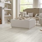 Make your home rich with white wood laminate flooring