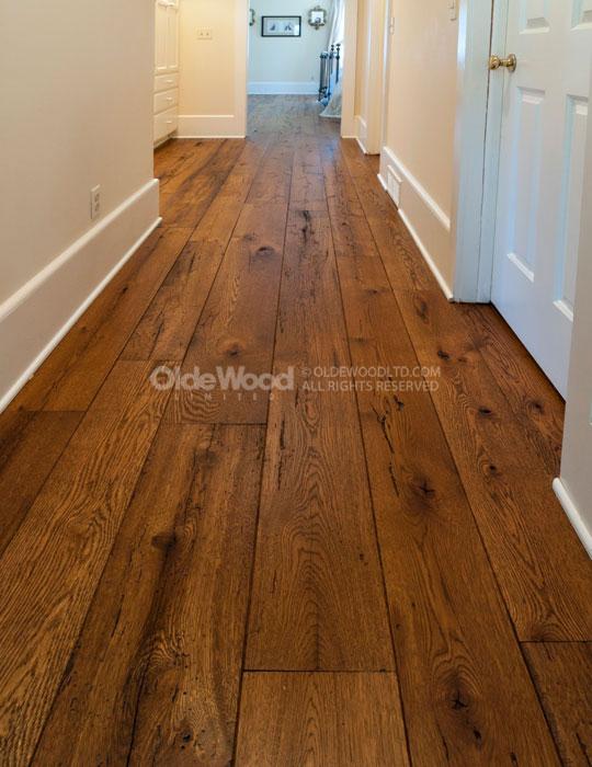 wide plank hardwood flooring reclaimed wide plank flooring. antique resawn oak IZDPRCL