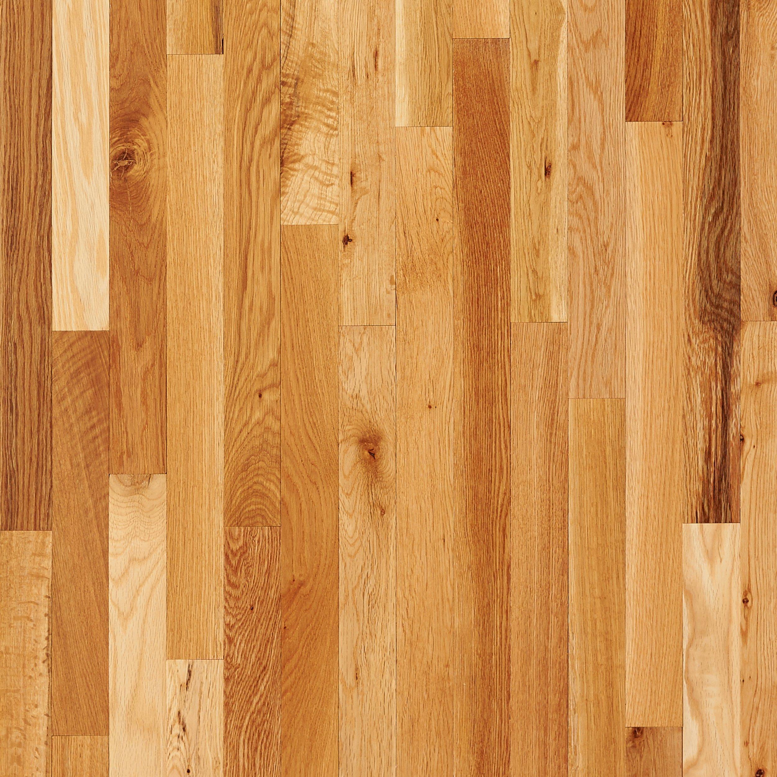 wood flooring natural oak smooth solid hardwood TJMYHUT