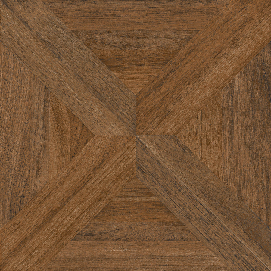 Wood tiles flooring nitrotile villanova brown wood look ceramic floor tile (common: 17-in x 17 IBERPRS