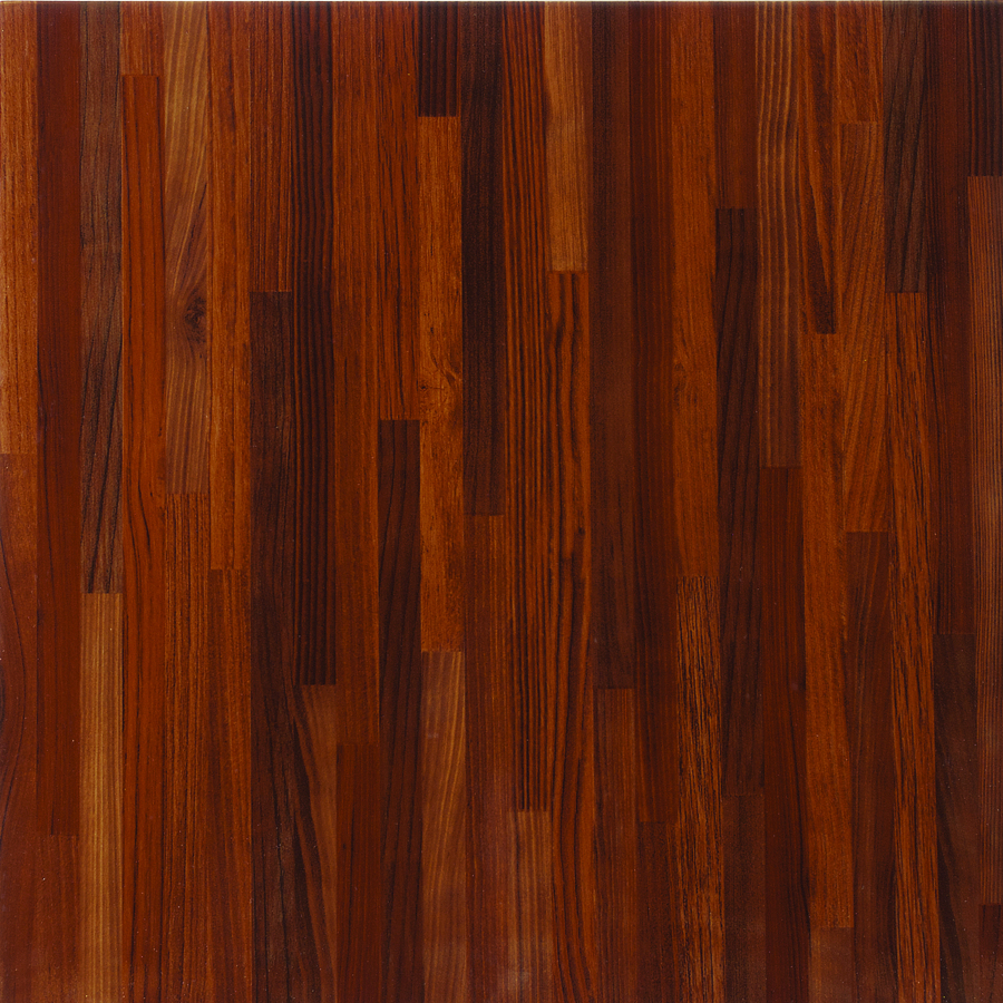 wooden floor tiles porcelanite red wood look ceramic floor tile (common: 17-in x 17- OQMXCWN