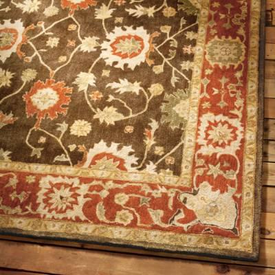 wool area rugs deerfield wool area rug | grandin road YXFCLEF