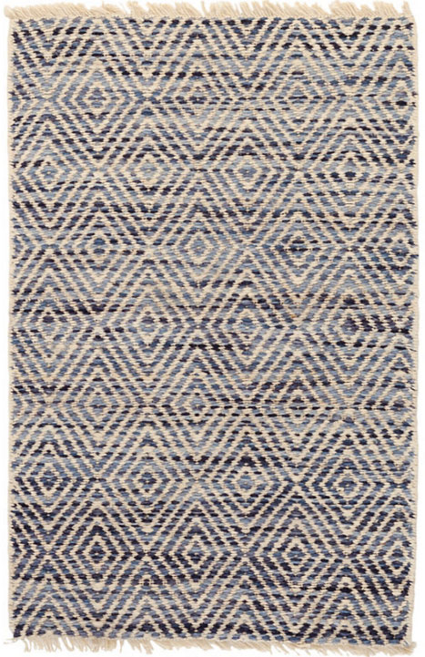Woven rugs dash and albert jewel blue jute woven rug GCYLNVD