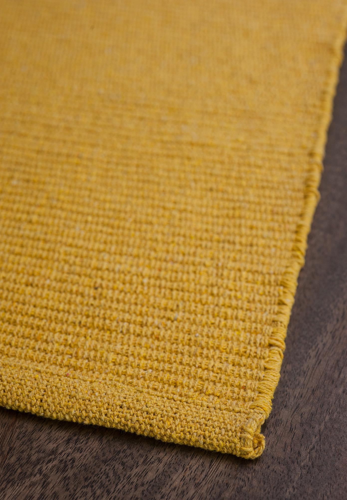 yellow rug solid yellow flatweave eco cotton rug. $1 ... OVFLXDA