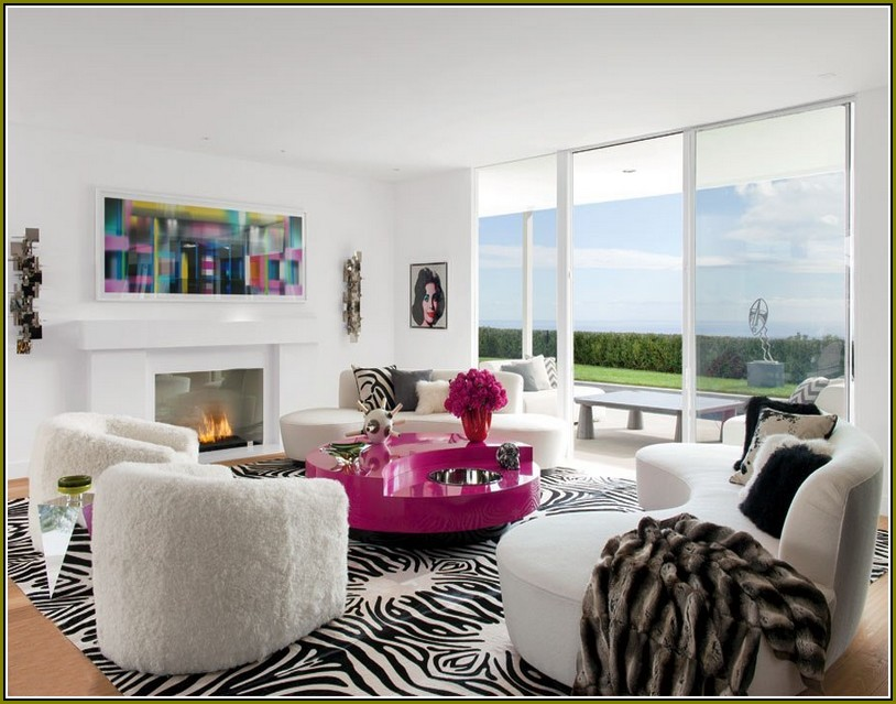 zebra print rug in living room zebra print rug living room GTHEWKP