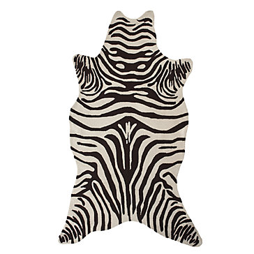 zebra rugs zebra indoor/outdoor rug - chocolate WIUCLHS