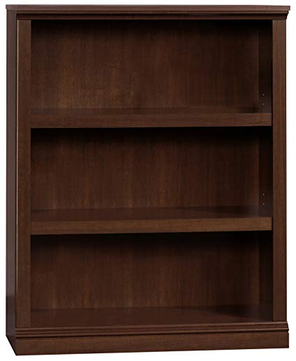 Amazon.com: Sauder 412808 3 Shelf Bookcase, L: 35.28