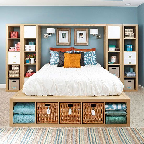 Two Storage Ideas for More Space In Your  Bedroom