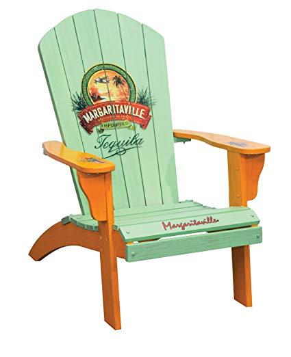 Amazon.com : Margaritaville Outdoor Patio Wood Adirondack Chair