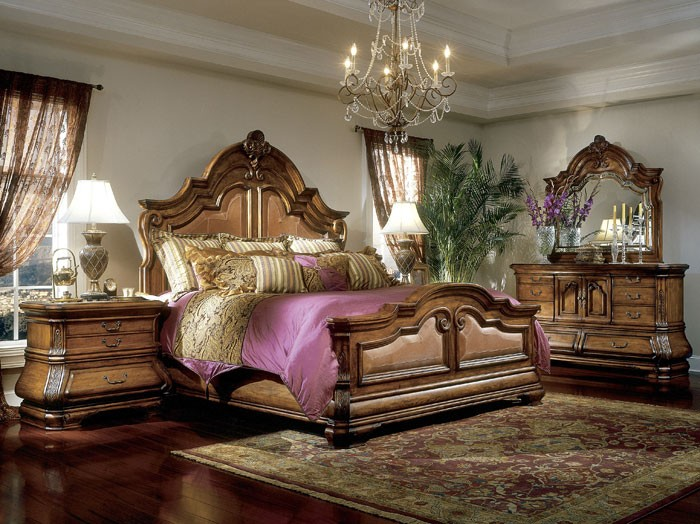 Tuscano Bedroom Collection - Aico Furniture - The Furniture