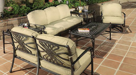 Gensun® Aluminum Outdoor Furniture - Patio Land USA