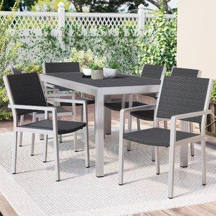 Modern & Contemporary Cast Aluminum Patio Furniture | AllModern