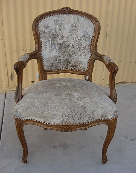 French Antique Louis XV Armchair Antique Furniture Antique Chair