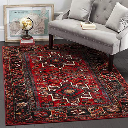 Amazon.com: Safavieh Vintage Hamadan Collection VTH211A Antiqued