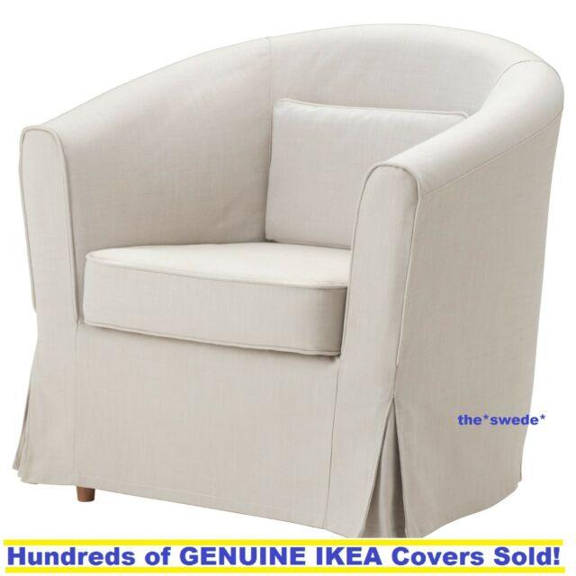 Ikea EKTORP TULLSTA Chair Armchair Cover Slipcover Nordvalla Beige