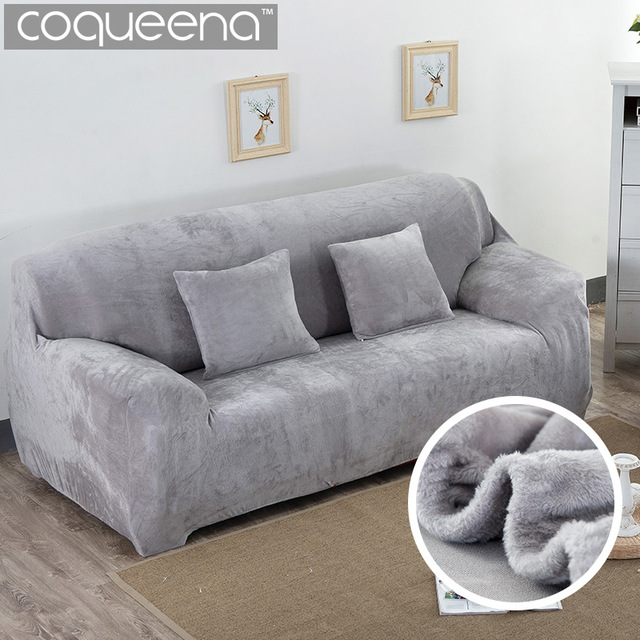 Super Soft Stretch Thick Plush Sofa Slipcover Couch Armchair Covers