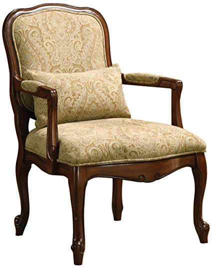 Amazon.com: Furniture of America Vanderberge English Style Armchair