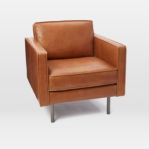 Axel Leather Armchair | west elm