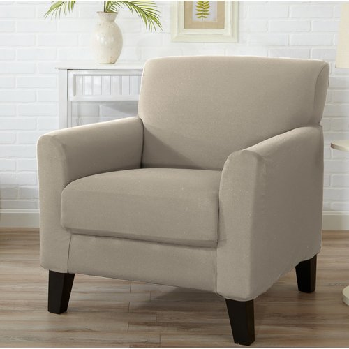 Winston Porter Box Cushion Armchair Slipcover - Walmart.com