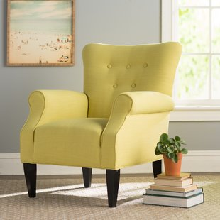 Alluring checked armchairs for living   room