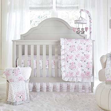 Amazon.com : Wendy Bellissimo 4pc Nursery Bedding Baby Crib Bedding