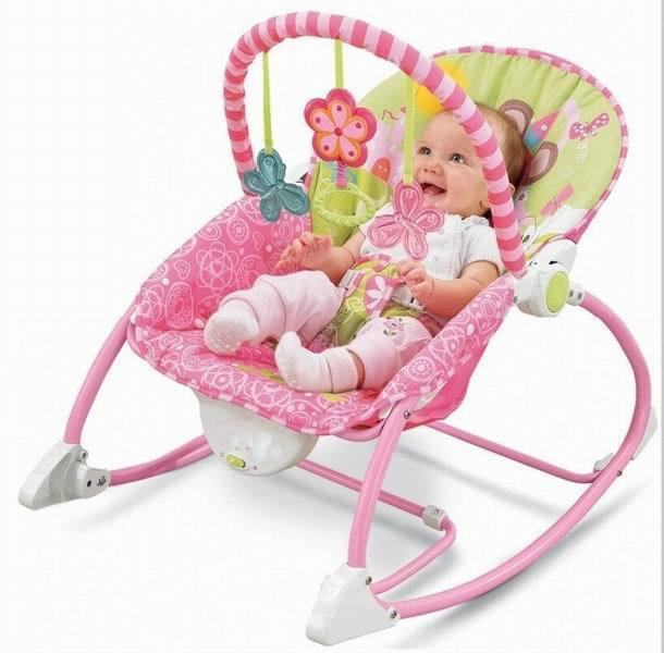 Ibaby Electric Baby Rocking Chair Newborn Musical Rocker Infant