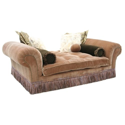 Backless Sofa - Manufacturer: Old Hickory Tannery Model: 0194-8609
