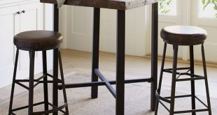 Griffin Reclaimed Wood Bar-Height Table | Pottery Barn