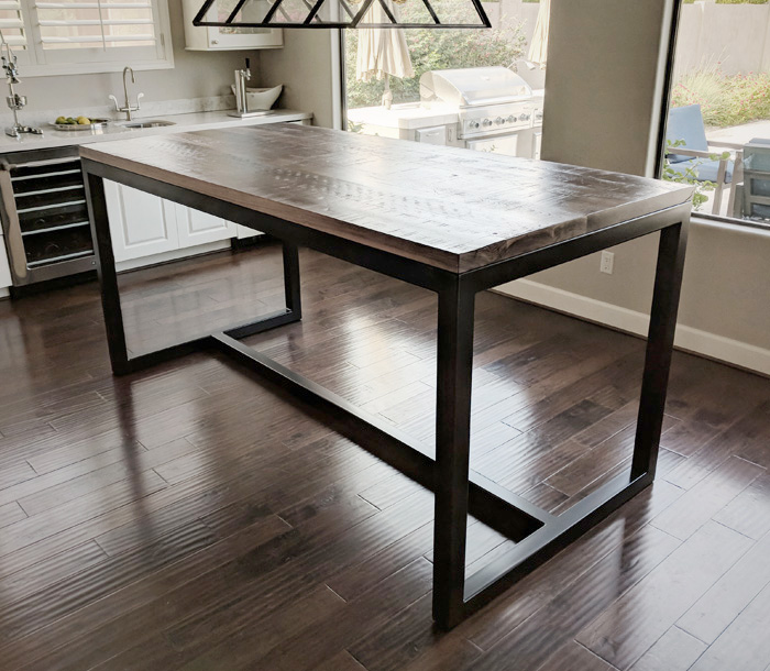 Bar Height Dining Table | YAMWOOD Foundry