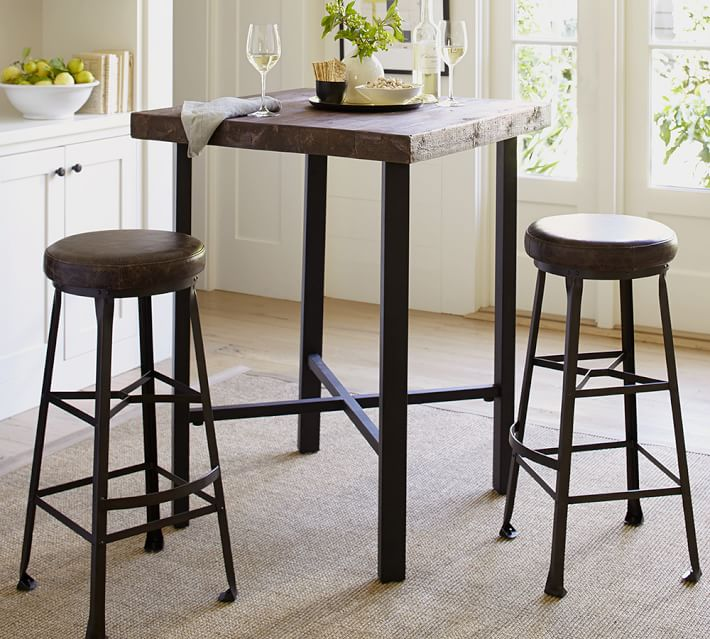Bar Height table for the Home Bar