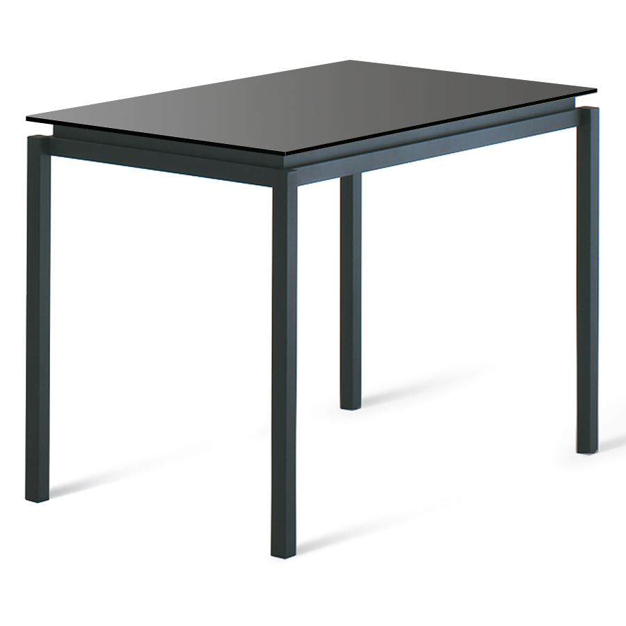 Amisco Robert Black Modern Bar Table | Eurway Furniture
