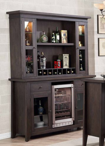 Lexington Bar Back Bar w/ Hutch Top | E.C.I. Furniture | Home