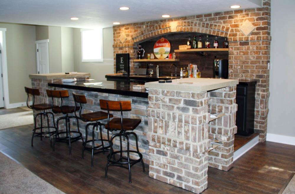 Basement Bars u2014 Graf Custom Homes