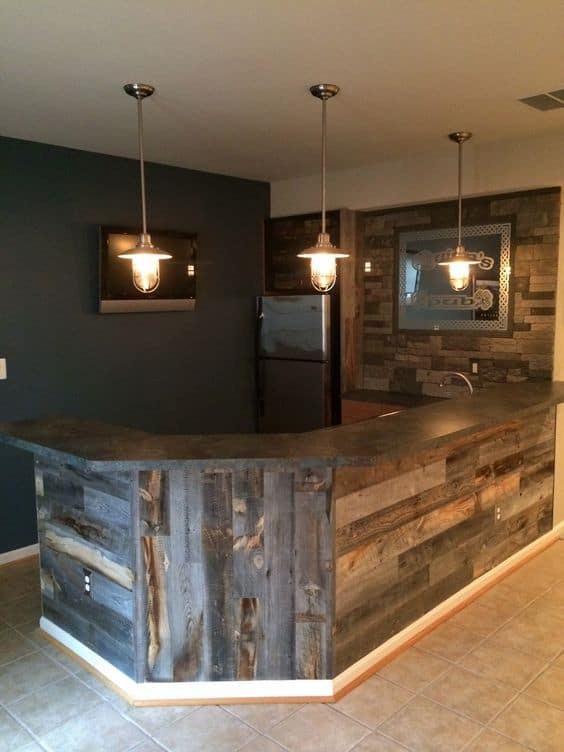 43 Insanely Cool Basement Bar Ideas for Your Home | Homesthetics