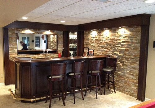 Turn Your Basement Into A Bar u2013 20 Inspiring Designs That Will Make