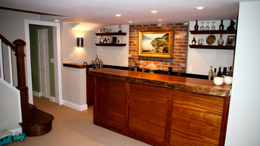 Building a Bar in Your Basement | Angie's List