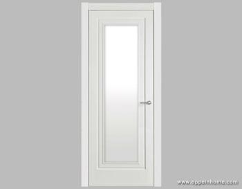 White Shatterproof Frosted Interior Glass Bathroom Door - Buy