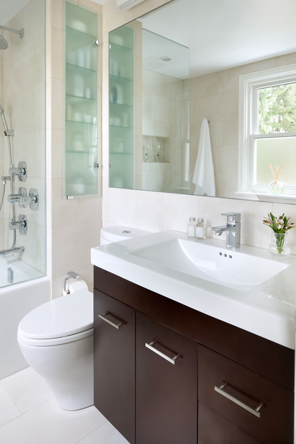 Small Space Bathroom - Contemporary - Bathroom - Toronto - by