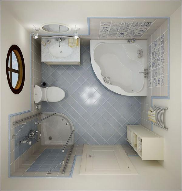 17 Small Bathroom Ideas   house decor   Pinterest   Bathroom design