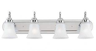Westinghouse 6652300 4 Light Bracket Bathroom Light Fixture - Vanity