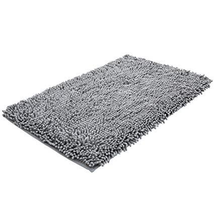 Amazon.com: NTTR Super Soft Bath Mat Microfiber Shag Bathroom Rugs