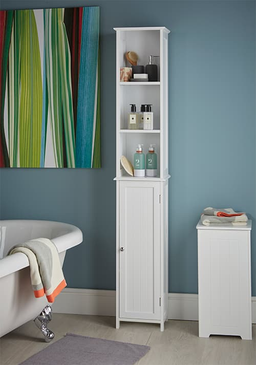 STORE | Slimline Tall Bathroom Storage Cabinet