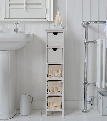 Tall slim narrow 20cm bathroom storage | Home Ideas in 2019 | Meuble