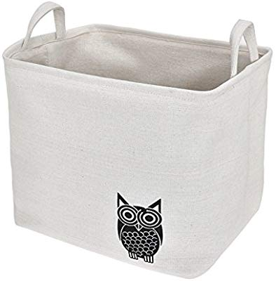 Amazon.com: Expo Essential Collapsible Storage Baskets Linen Bin