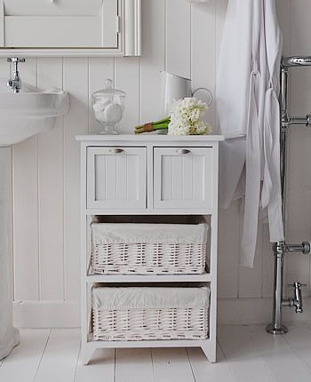Organizing with Baskets | Fabulous Bathrooms | Pinterest