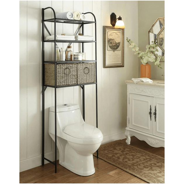 15 Practical Bathroom Storage Ideas (Photos)